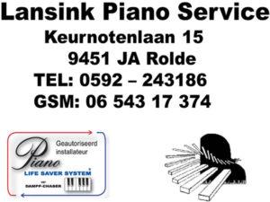 Lansink Piano Service